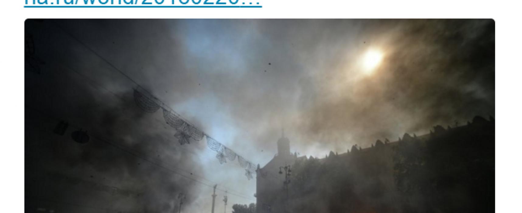 La prensa rusa inventó una nueva revolución en Ucrania con 67 asesinados