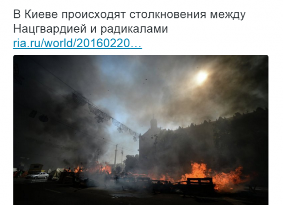Russian Media Fabricate a New Revolution with 67 Killed