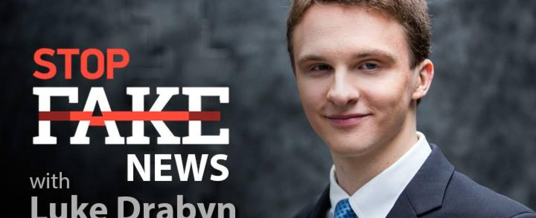 StopFakeNews #73. [ENG] with Luke Drabyn