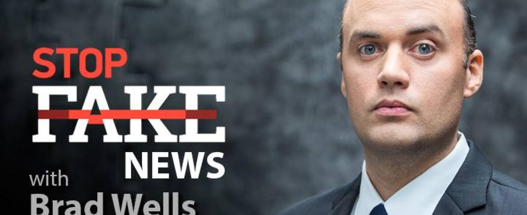StopFakeNews #72. [Engels] met Brad Wells