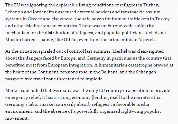 Screenshot de pe site-ul Politico.eu
