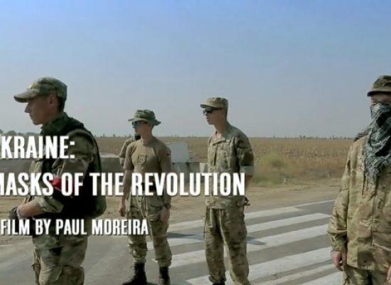 "Polish TV broadcasts Moreira's ""Masks of the Revolution"" on Maidan shooting anniversary"