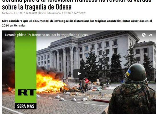 Engañoso documental sobre Ucrania, digno de RT, en Canal+