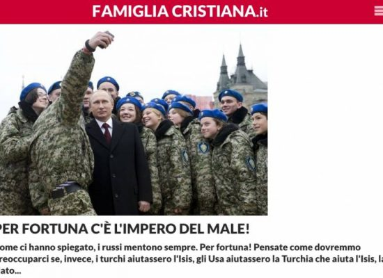 Fake : Fulvio Scaglione e il regime ucraino
