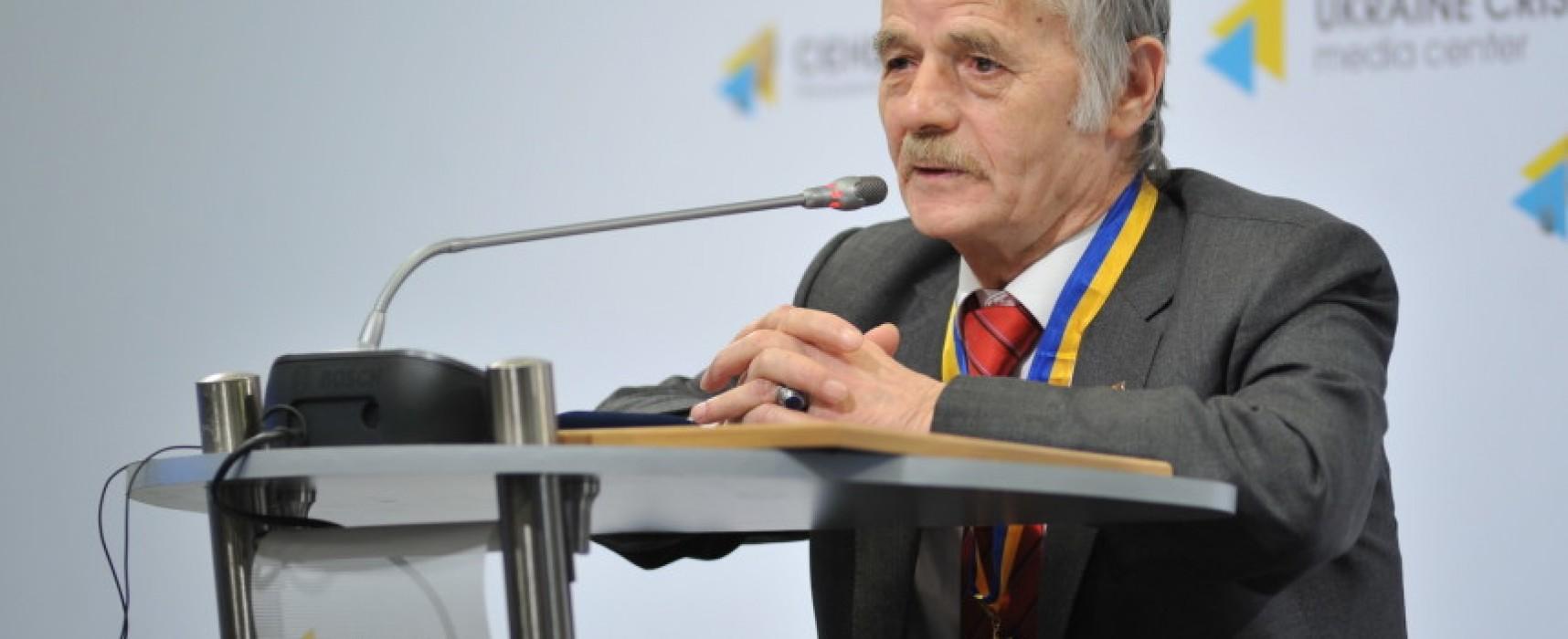 Mustafa Cemilev – all'Ukraine Crisis Media Center