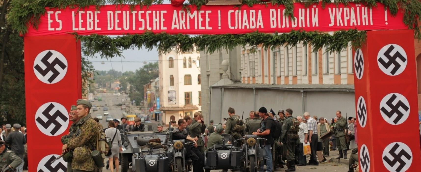 Fake : Leopoli celebra le festività cittadine con la svastica