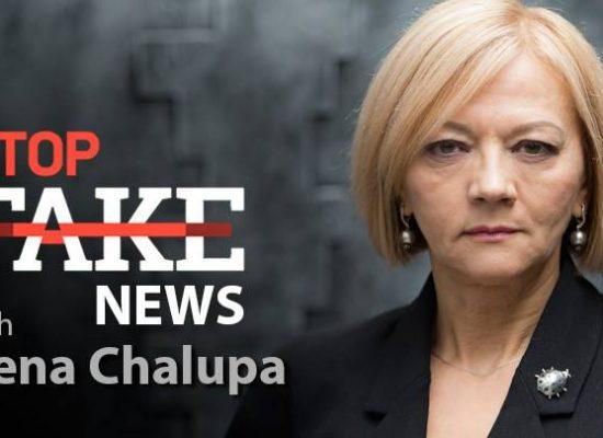 Noticias StopFake con Irena Chalupa (inglés) #76