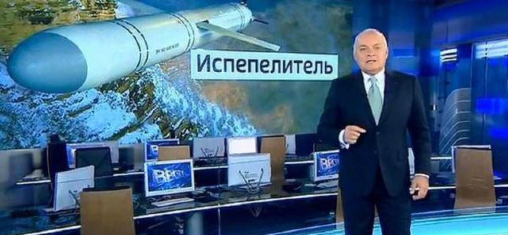 Dmitry Kiselyov attacca (nuovamente) l'Ucraina