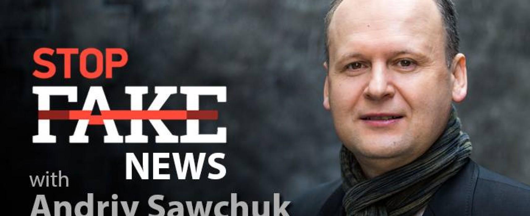Noticias StopFake en inglés #77 con Andriy Sawchuk