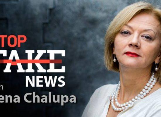 StopFakeNews #74. [Engels] met Irena Chalupa