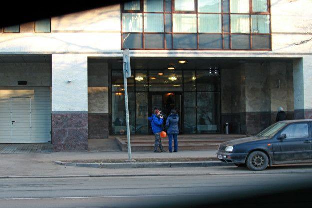 """Вход в """"фабрику троллей"""" в начале 2015 года, когда там работала Людмила Савчук. Andrey Soshnikov"""