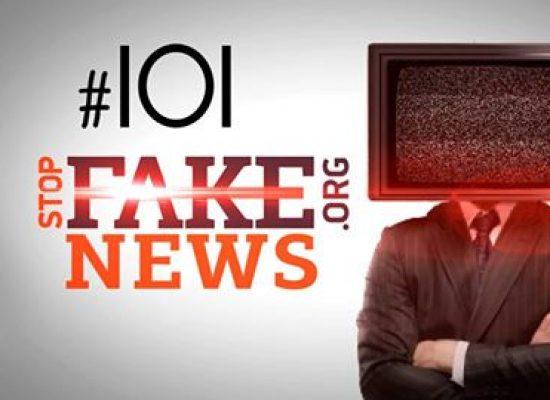 StopFakeNews #101. Письмо для Савченко и предложение Трампа о переселении прибалтов в Африку