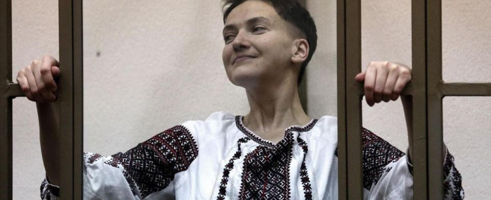 L'arringa di Nadia Savchenko