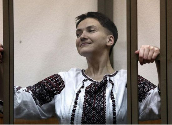 Путин прави от Савченко украинска мъченица