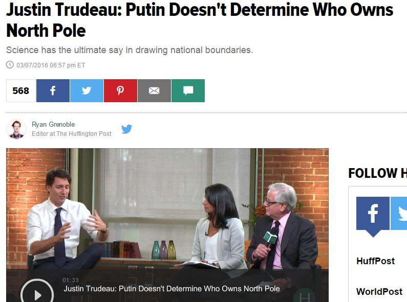 Скриншот Huffingtonpost.com