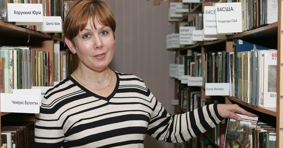 Natalia Sharina. Foto de la página de Amnestía Internacional