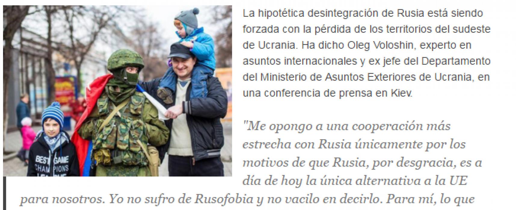 "Fake: Ukrainian Diplomat: ""Kharkiv and Odessa Will Meet Russian Tanks with Flowers"""