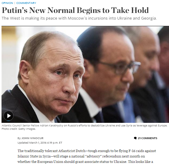 Captura de pantalla de WSJ