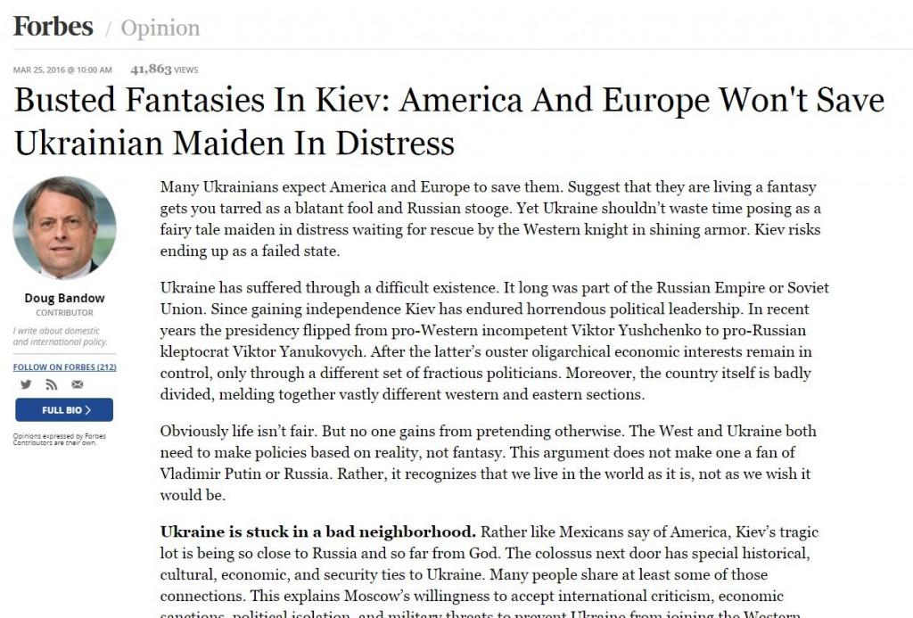 Website screenshot Forbes.com
