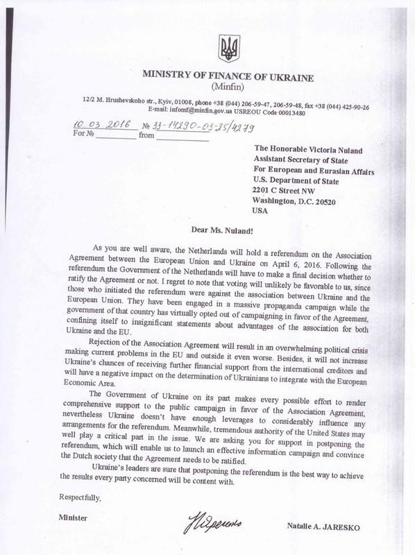 Una carta falsificada que fue difundida por Ridus