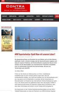 "Website screenshot de ""Contra Magazin"""