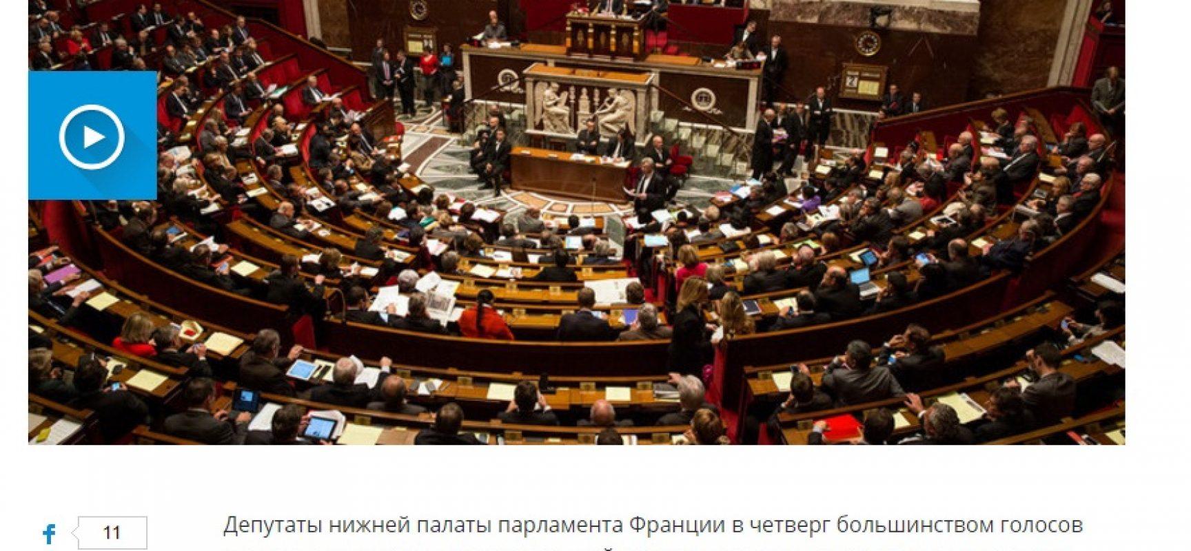 Fake: Francia revoca le sanzioni alla Russia