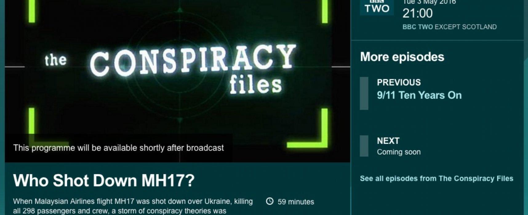 Falso: BBC acusó a Ucrania de derribar del avión MH-17