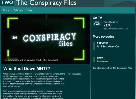Фейк: BBC обвиняет Украину в том, что она сбила MH17
