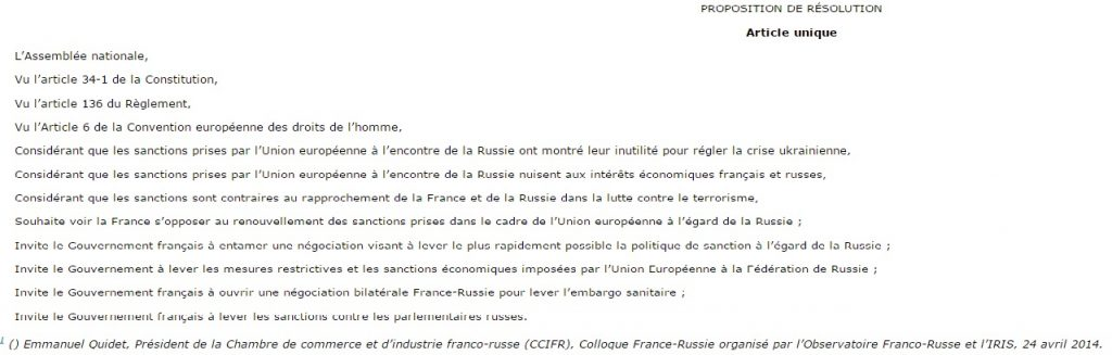 Screenshot webiste assemblee-nationale.fr