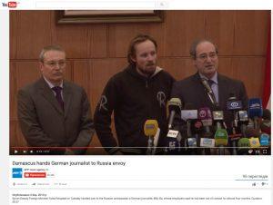 Website screenshot de YouTube de AFP