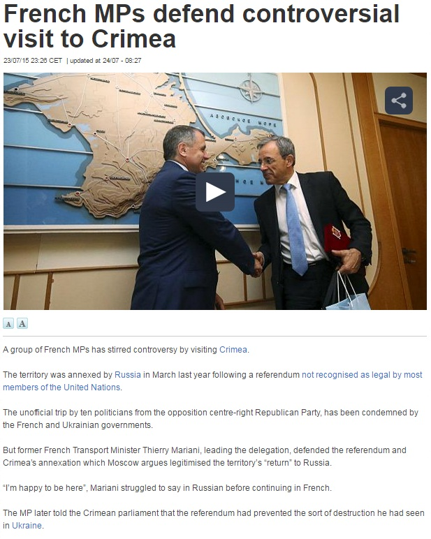 Скриншот сайта euronews.com