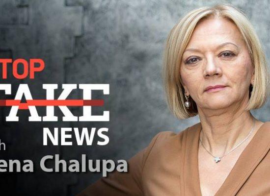 Noticias StopFake en inglés #78 con Irena Chalupa