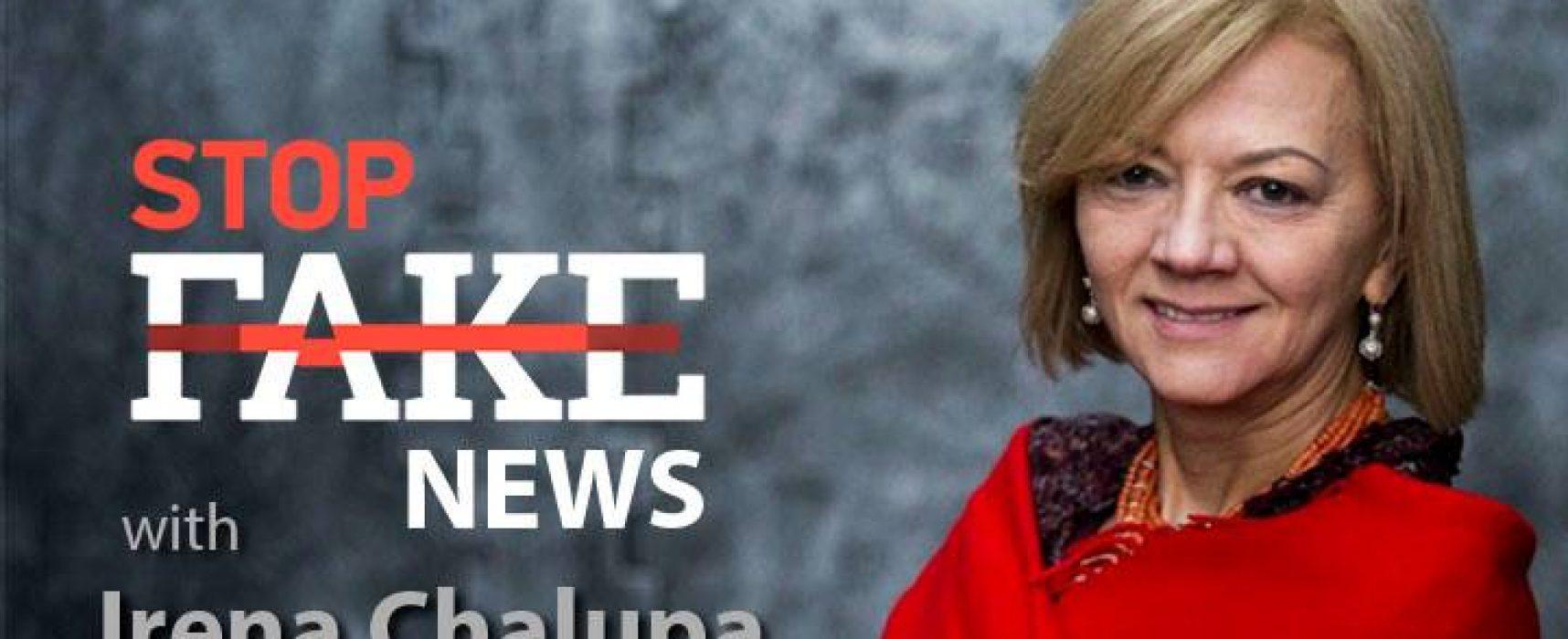 Noticias StopFake #80 con Irena Chalupa en inglés