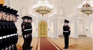 Los cadetes en el Kremlin