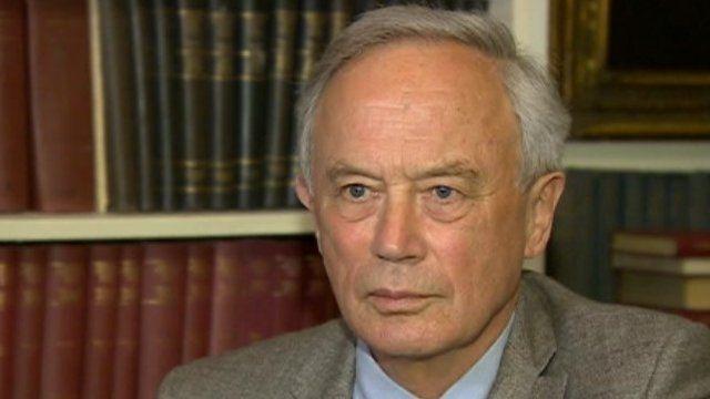 Sir Andrew Wood, foto de BBC