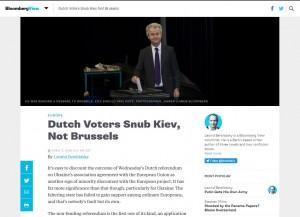Website screenshot BloombergView