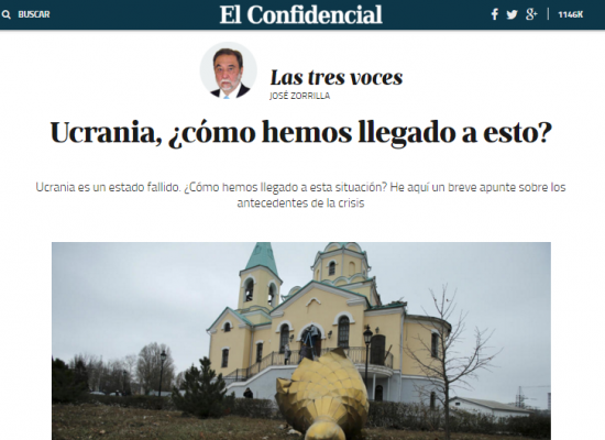Un medio español publicó una opinión con los datos erróneos sobre Ucrania