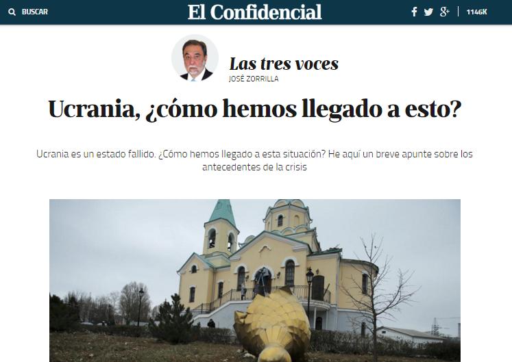 Captura de pantalla de El Confidencial