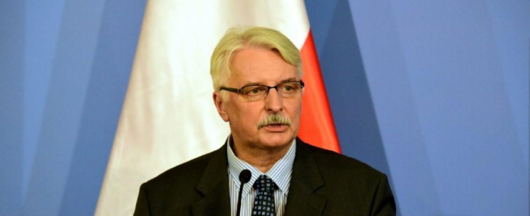 La Russie plus dangereuse que l'EI, assure le chef de la diplomatie polonaise