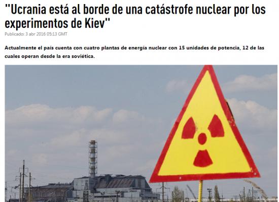Fake: La situazione delle centrali nucleari ucraine può avere conseguenze tragiche