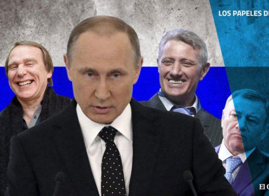 Todos los hombres de Putin: la red de dinero 'offshore' conectada al presidente ruso
