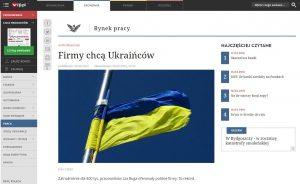Website screenshot Rp.pl
