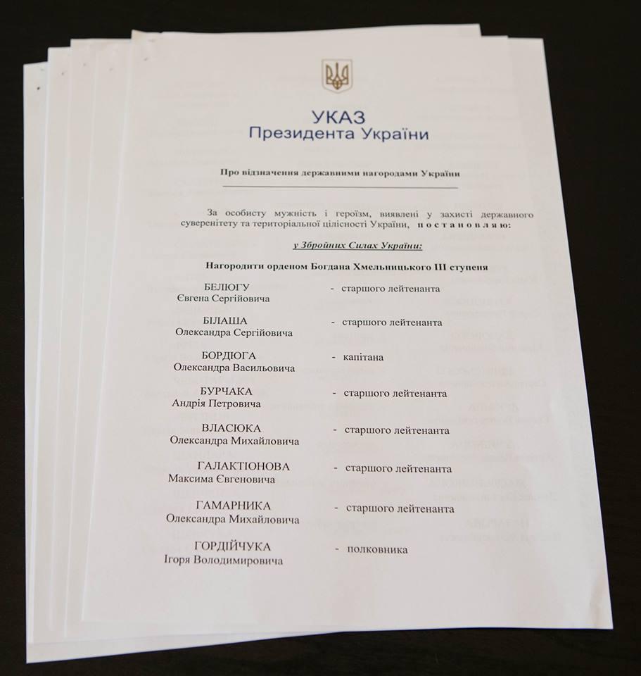 Указ президента / facebook.com/petroporoshenko