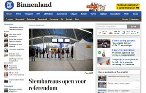 Website screenshot Telegraaf.nl