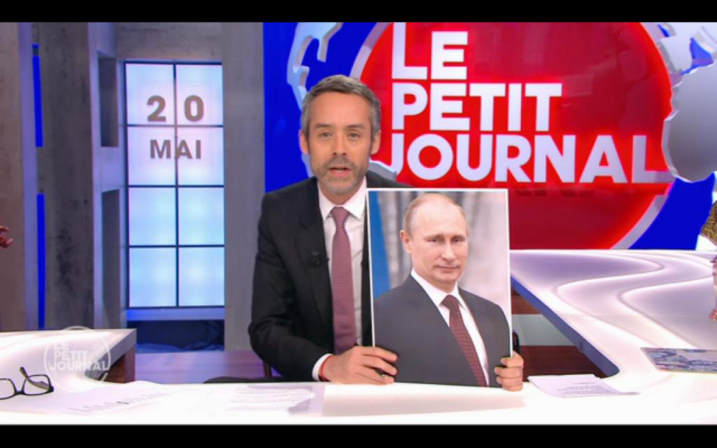Captura de pantalla de Canal+  «Le Petit Journal»