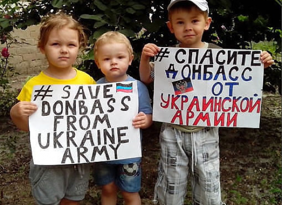 Russian propaganda: Children of Donbass in a fishbowl