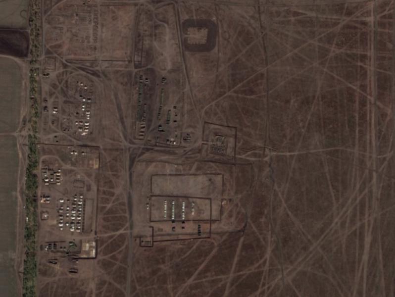 Captura de pantalla de una imagen de Google Earth del 9 de octubre de 2014.