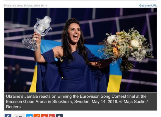 """Fake: La giuria europea ha """"scippato"""" la vittoria di Lazarev all'Eurovision"""