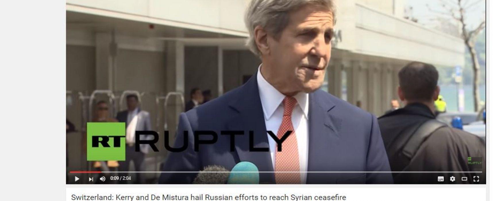 Фейк: Керри похвалил усилия России в достижении перемирия в Сирии