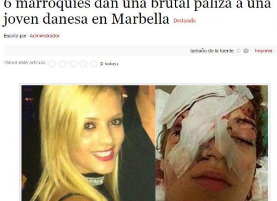 Levantaron la nota de tres años atrás para culpar a los refugiados de un ataque en Marbella